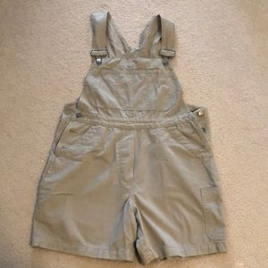 The Trader Jeans Company coverall shorts size 12